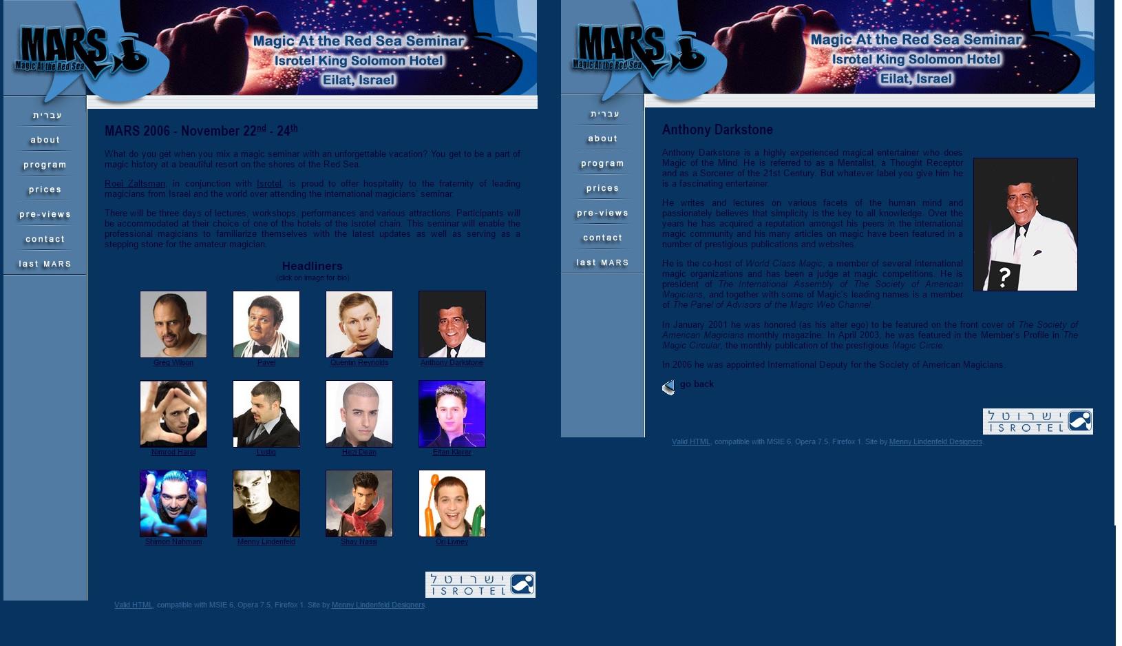 MArs Convention
