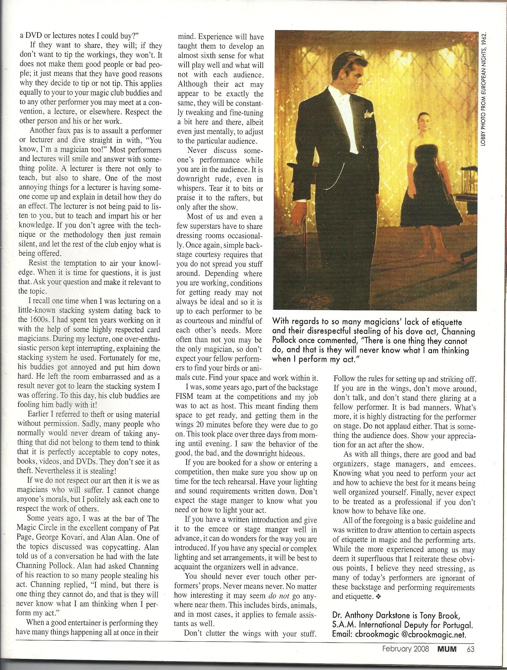 MUM Magazine Feb 2008