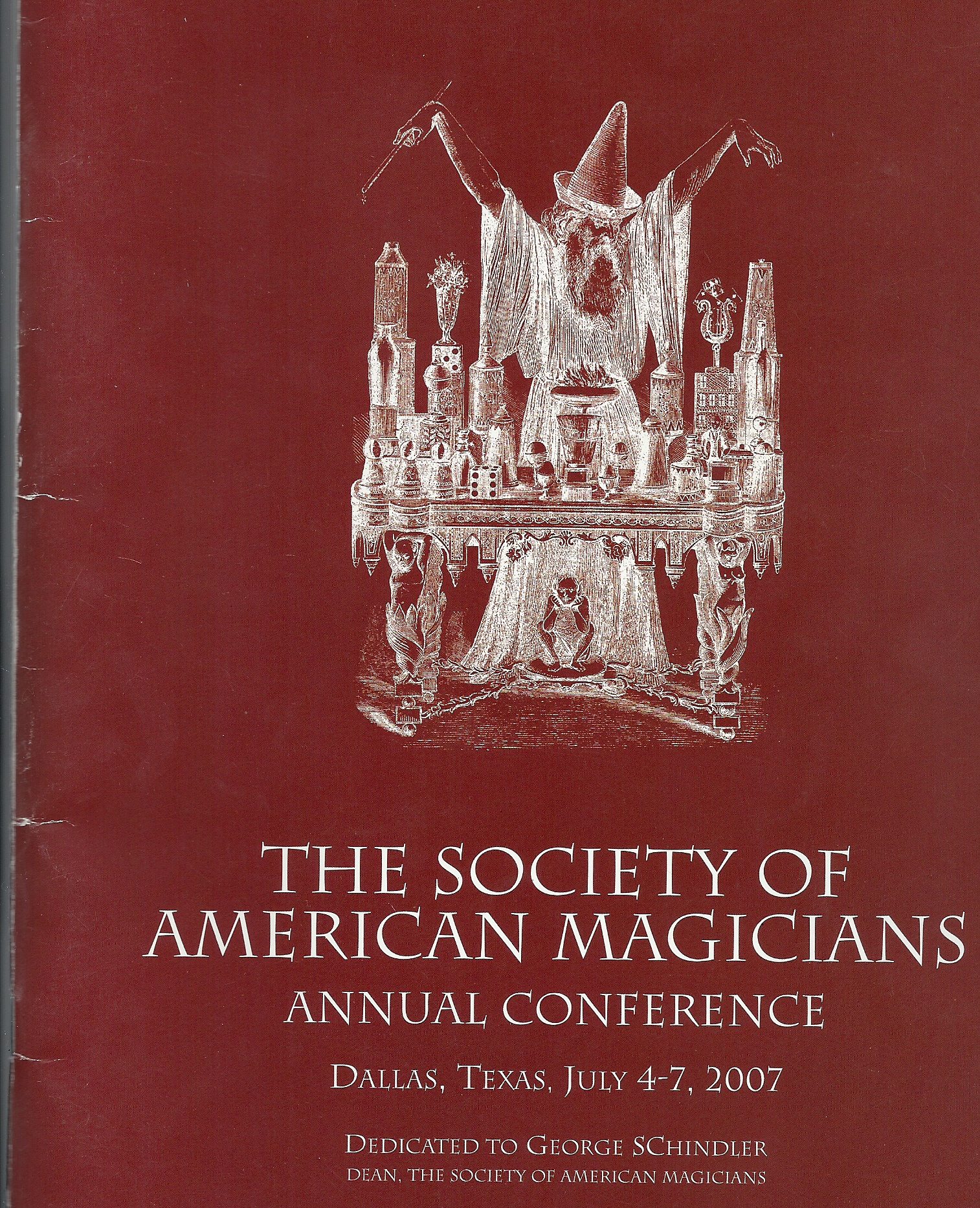 Sosciety of American Magicians Conference 2007