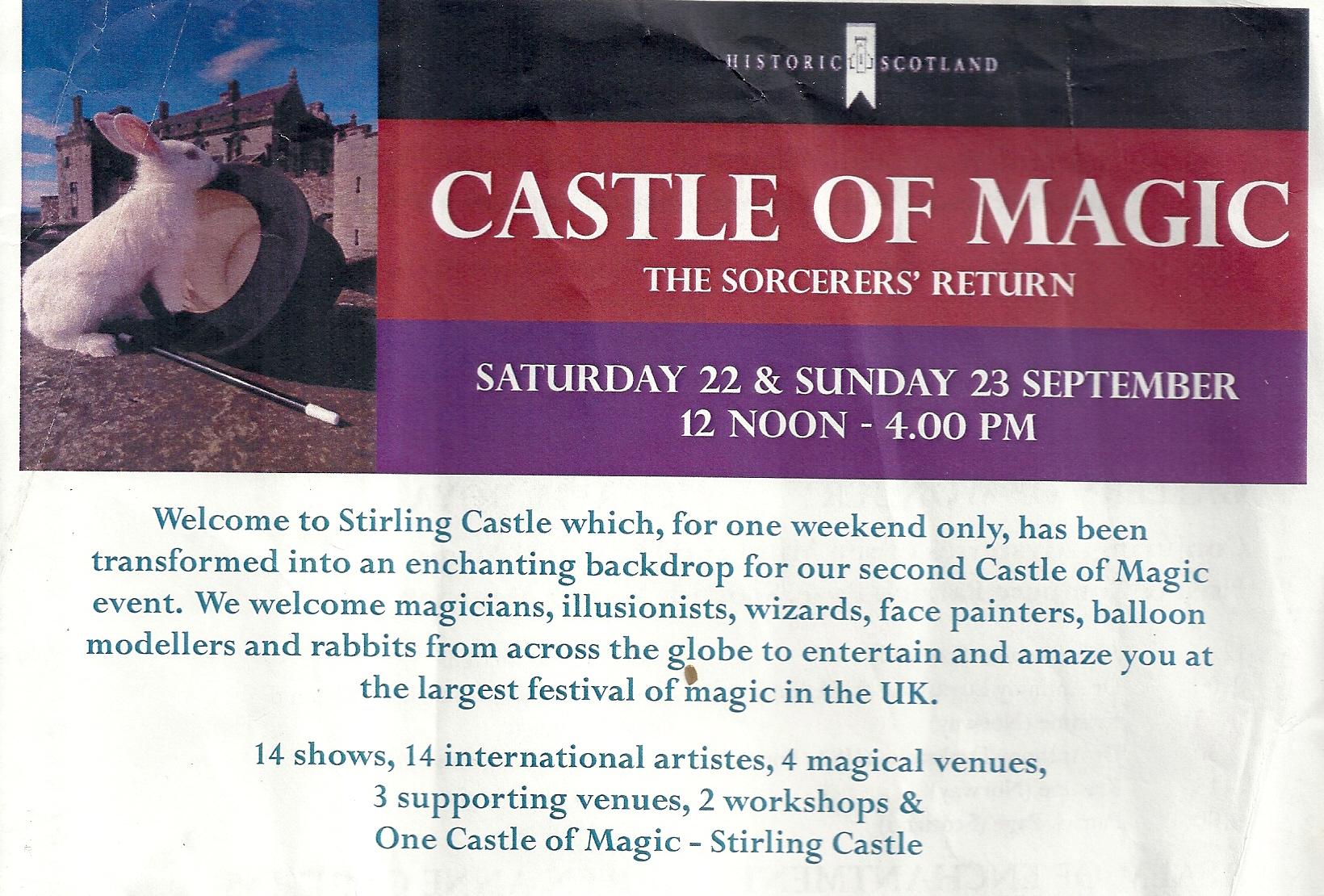 Castle of Magic Sorcerers' Return