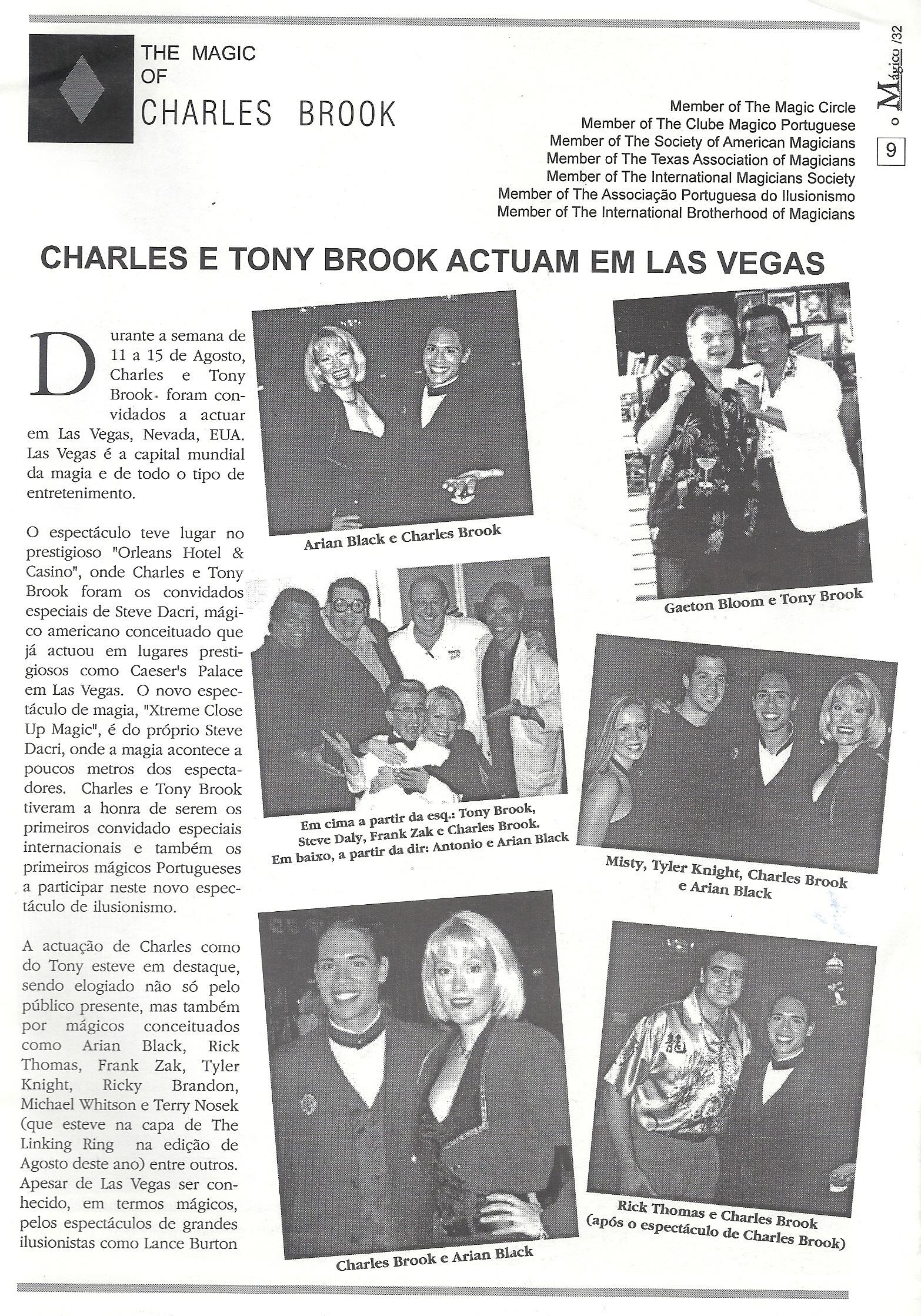 The Magic of Charles Brook